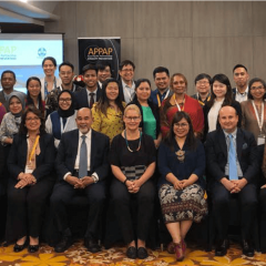 Members of APPAP's 3rd Annual Meeting