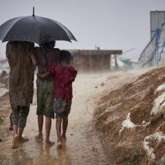 Refugees in Myanmar
